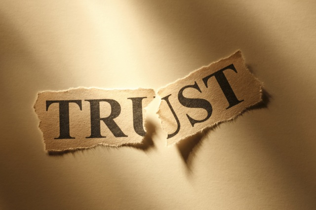 Trust Issues (from the pulpit to the door)