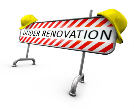 Your Under Construction- God's Renovation Process.